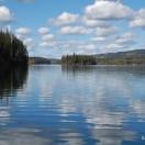 Ausblick auf den Bridge Lake