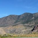 Blick auf die Landschaft am Highway 99, kurz vor Lilloet